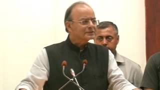 25 July, 2017 - Indian finance minister says demonetisation, GST will widen tax base - ANIINDIAFILE
