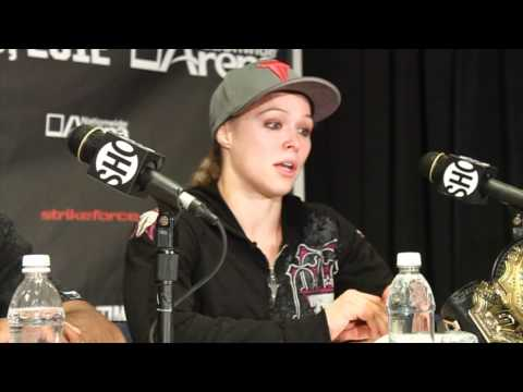 Strikeforce Post Fight: Ronda Rousey - 'If They Don't Tap, You Keep Going'