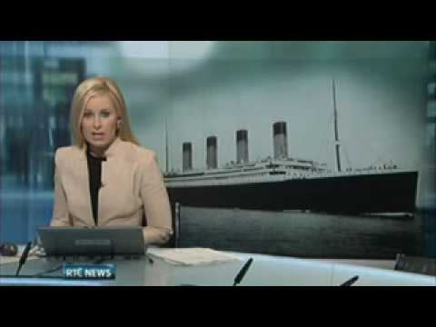 RTE News Addergoole Titanic Society