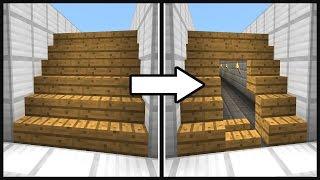 Майнкрафт: Секретный проход под лестницей - МЕХАНИЧЕСКИЙ ДОМ против гриферов в Minecraft механизм