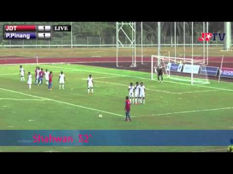 Piala Presiden - JDT vs P.Pinang (Goal Highlights) 17 Feb 2014
