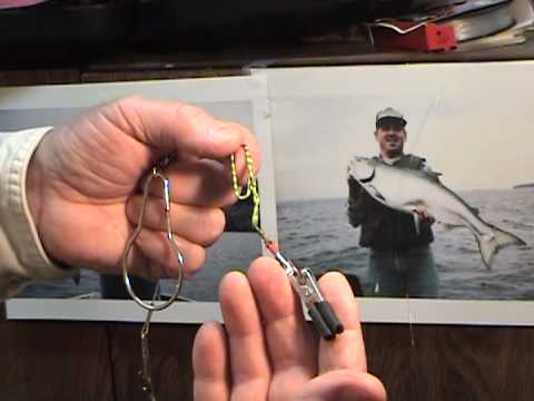 Best Ever Chinook King Salmon and Brown Trout downrigger release do it yourself Tip and Trick