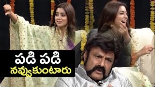 Shriya Making Fun On Balakrishna Dialogue In Gautamiputra Satakarni | Hilarious | TFPC - TFPC