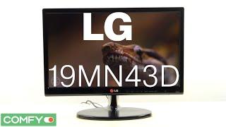 19MN43D- небольшой телевизор с умеренной стоимостью от LG - Видеодемонстрация от Comfy