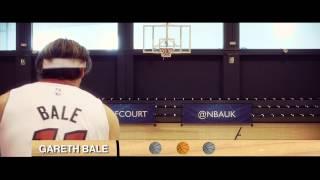 فيديو | مهارات بيل في كرة السلة تهزم بيتر تشيك وديمبا با