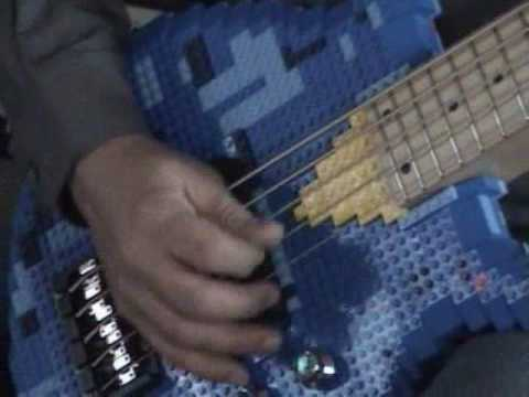 Lego Bass Amazing 5 String Custom Bass Guitar
