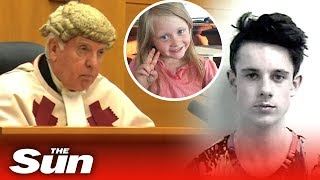 Aaron Campbell gets life in prison for raping and killing Alesha MacPhail, 6 - THESUNNEWSPAPER
