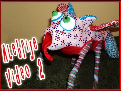 CURSO DE PAPEL MACHE FIGURA BASE   VIDEO 2