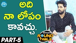 Tollywood Directors At iDream Round Table Exclusive Interview - part #5 - IDREAMMOVIES