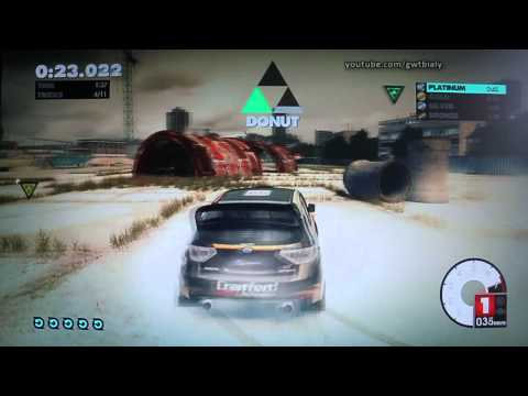 DiRT 3 (PS3): Gymkhana Sprint 01 - Osiris Offroad Rush [720p]