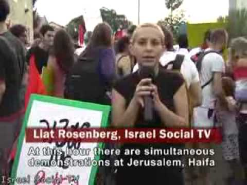 Jews Protest Against The israeli Massacre of Unarmed Humanitarians.