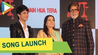 Amitabh Bachchan at the song launch of Aadesh Shrivastava's son Avitesh - Main Hua Tera - HUNGAMA