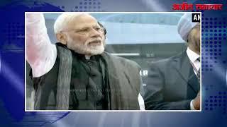 video:दिल्ली : 'वन्दे भारत एक्सप्रेस' में सवार हुए प्रधानमंत्री नरेंद्र मोदी