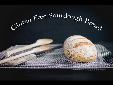 How To Make Gluten Free Sourdough Bread | Baking Magique