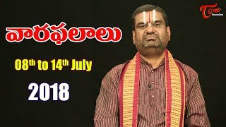 Rasi Phalalu | July 08th to July 14th 2018 | Weekly Horoscope 2018 | TeluguOne - TELUGUONE