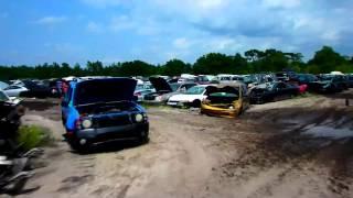 Кладбище автомобилей - почти новые машины FloridaYalta 25.04.2015