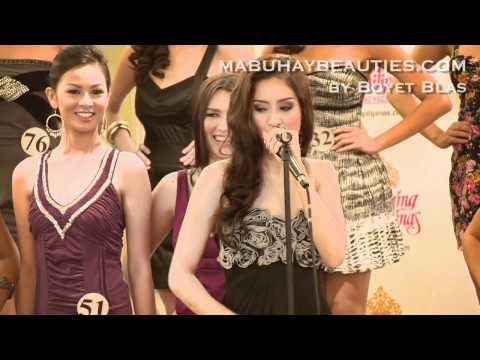 BB. PILIPINAS 2011 Screening - Queenie Rehman displays amazing talent