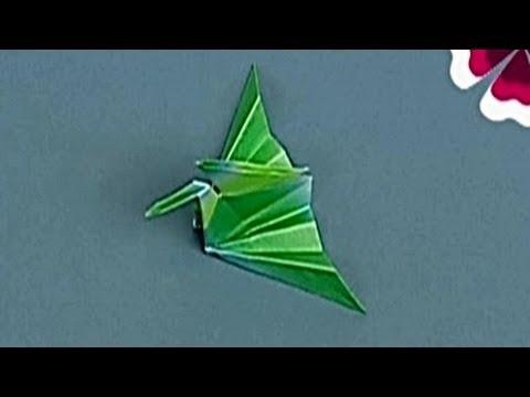 Çocuklar İçin Origami Crane II (Öğretici) – Kağıttan Arkadaşlar 12