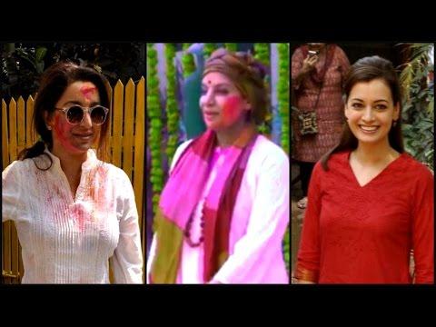 Shabana Azmi's Classy Holi Bash!