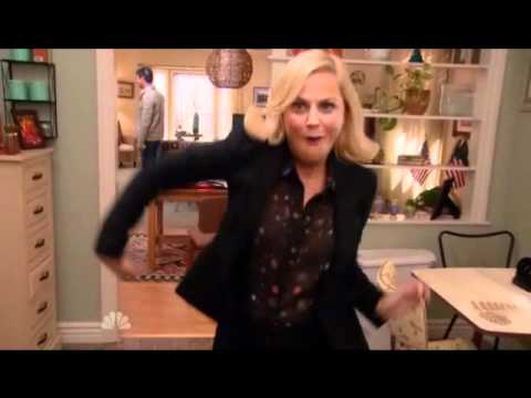 Leslie Knope Breakdancing