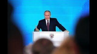 Putin delivers annual address to Russia's Federal Assembly - RUSSIATODAY