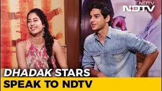 Janhvi & Ishaan On 'Dhadak', Social Media Fame & More - NDTV