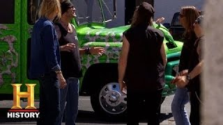 Counting Cars: Danny Reveals The Vampire Van (S4, E11) - HISTORYCHANNEL