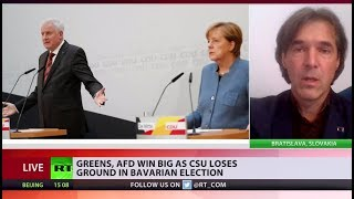 Bavarian blow: Merkel's key alley suffers worst result in over 60 yrs - RUSSIATODAY