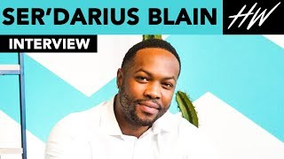 Jumanji's, Ser'Darius Blain Talks Kevin Hart & Opens Up About 'Charmed'!!   Hollywire - HOLLYWIRETV