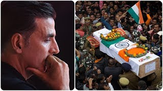 J&K Pulwama militants strike on CRPF convoy: Akshay Kumar donates Rs 5 crore to families of martyrs - NEWSXLIVE