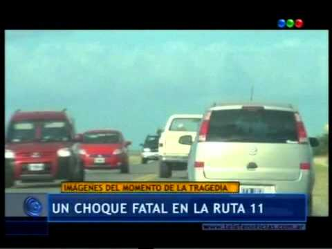 Accidente en la ruta 11 el 01-01-2012
