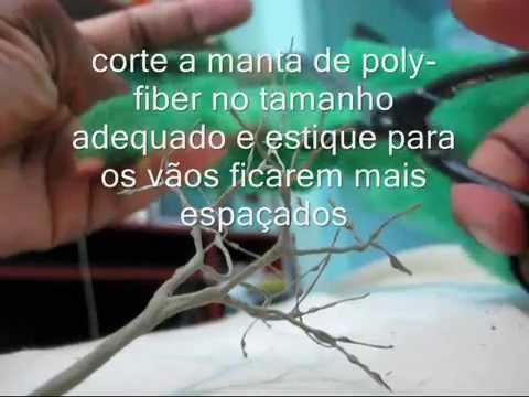 confecção de árvores pra  maquete.wmv