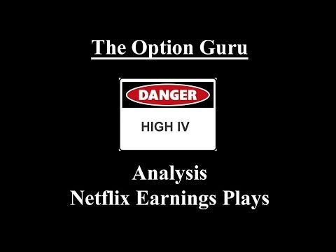 Analysis: NFLX Earnings Plays