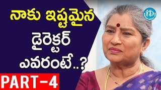 Actress Annapoorna Exclusive Interview Part #4 || Koffee With Yamuna Kishore - IDREAMMOVIES