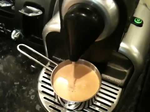 Make a Cafe Americano using Nespresso