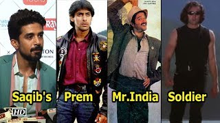 Saqib's Fan Moment with 'Prem', 'Mr.India' & 'Soldier' | Race 3 - IANSINDIA