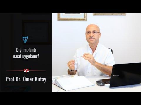 Prof. Dr. Ömer Kutay - Diş implantı nasıl uygulanır?