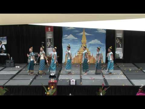 Lao New Year San Diego 2011 Lao Traditional Dance A