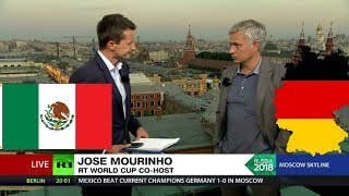 'Totally deserved victory... totally deserved defeat': Mourinho on Germany vs Mexico - RUSSIATODAY
