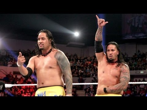 The Usos vs Heath Slater & Drew McIntyre Nov 4,2013