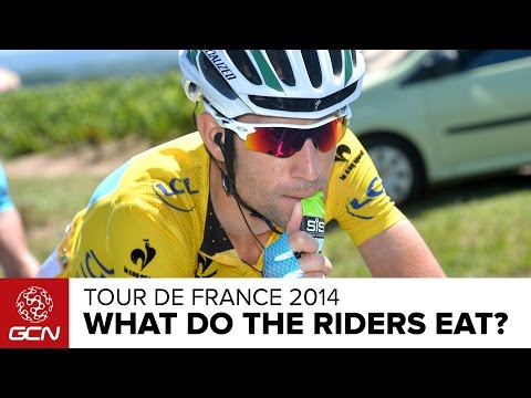 What Do Tour De France Riders Eat? | Tour De France 2014