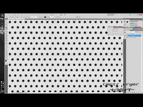 Photoshop CS5.1 &amp; Illustrator CS5.1 Tutorial - Metal Halftone Wallpaper - L3GiT