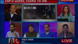 Cops leave teens to die in Saharanpur; mere suspension for cold-blooded murder?: Nation at 9 - NEWSXLIVE