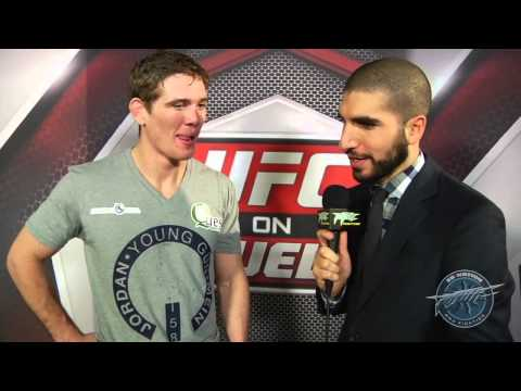 UFC 158: Jordan Mein Thinks Surviving Armbar 'Broke' Dan Miller