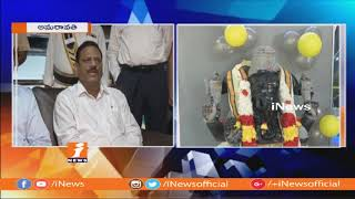 APCRDA Chairman Cherukuri Sridhar Inaugurates Home Appliances Showroom H Studio | Amaravathi | iNews - INEWS
