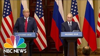 At news conference, Putin denies Russian involvement in 2016 U.S. election - NBCNEWS