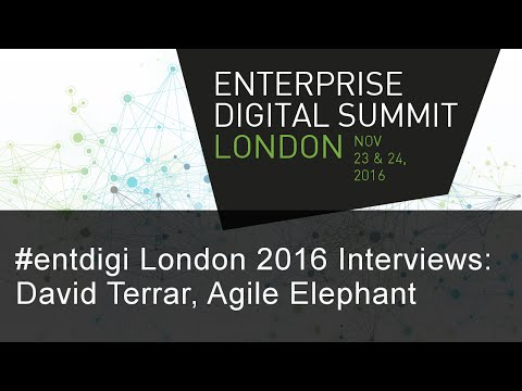 #entdigi16 Interviews: David Terrar, Agile Elephant