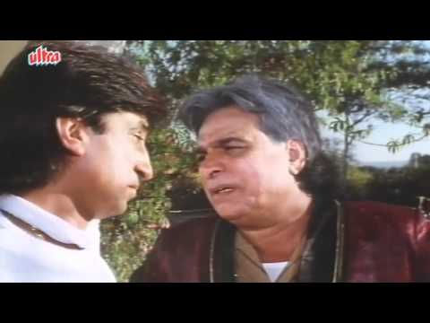 Shakti Kapoor's Love with Farha - Baap Numbri Beta Dus Numbri Scene