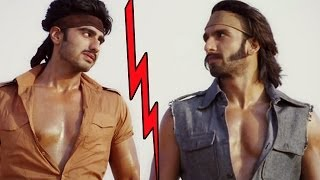 'NO BONDING' between Ranveer Singh and Arjun Kapoor !