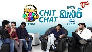 Fun Bucket Team Interviews Mister Team | Varun Tej | Srinu Vaitla - TELUGUONE